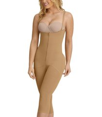 women's hook and zip mid-calf sculpting body shaper