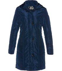 cappotto corto trapuntato (blu) - bpc selection