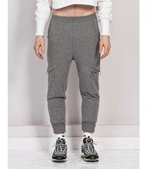 spodnie cargo grey