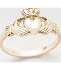 10 karat gold maids claddagh ring size 5.5
