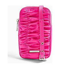 arrow festival pouch bag in pink - pink