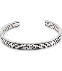 effy men's sterling silver bangle bracelet