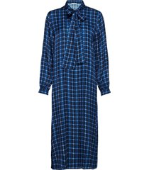 martha dress jurk knielengte blauw nué notes