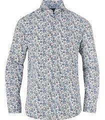 skjorta slhregsel-straw shirt ls
