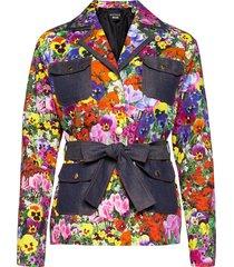 blumen jacket blazers casual blazers multi/mönstrad boutique moschino