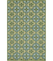 "kaleen a breath of fresh air fsr104-50 green 8'8"" x 12' area rug"