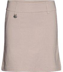magic skort 45 cm kort kjol beige daily sports