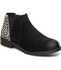 demi2 beat shoes boots ankle boots ankle boot - flat svart clarks