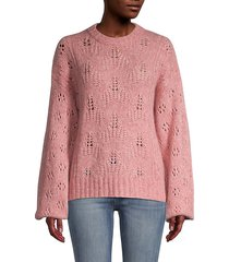tulip loose knit wool-blend sweater