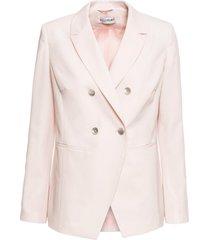blazer lungo a doppiopetto (rosa) - bodyflirt