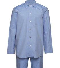 alexis unisex pajama pyjamas blå lexington home