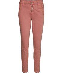calinacr pants - baiily fit smala byxor stuprör rosa cream