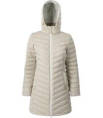 abrigo mujer lilit beige doite