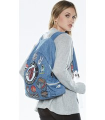 quincy heart breaker backpack - one hada mada denim
