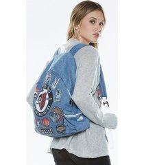quincy heart breaker backpack - one hada mada denim