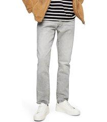 men's topman slim fit jeans, size 38 x 34 - grey