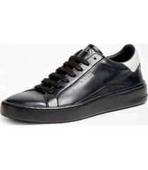 skórzane sneakersy z model verona