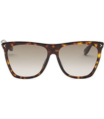 58mm oversized square sunglasses
