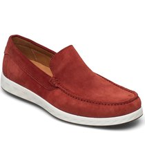 s lite moc m loafers låga skor röd ecco