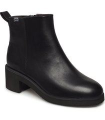 wonder womens shoes boots ankle boots ankle boot - heel svart camper