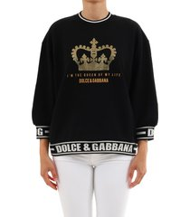 dolce & gabbana sweatshirt queen