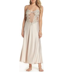 women's flora nikrooz showstopper nightgown, size x-small - ivory