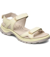 offroad shoes summer shoes flat sandals beige ecco