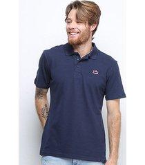 camisa polo fila overpass masculina - masculino