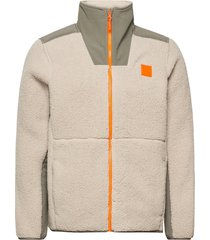 ua legacy sherpa swacket sweat-shirts & hoodies fleeces & midlayers creme under armour