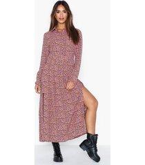 glamorous long sleeve high neck dress långärmade klänningar