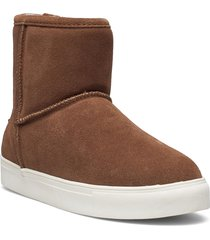 basel shoes boots ankle boots ankle boot - flat brun axelda for feet