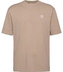 b+f trefoil tee t-shirts short-sleeved beige adidas originals