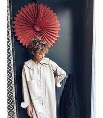 koszula/ tunika z baweny satynowej
