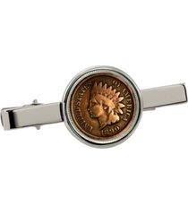 american coin treasures 1800's indian penny coin tie clip