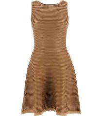 dsquared2 ribbed knit mini dress