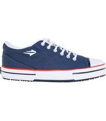 zapatillas moda topper nova low hombre azul