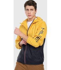 chaqueta amarillo-azul-rojo tommy hilfiger