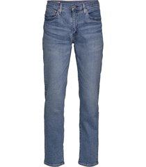 514 straight hollywood branch slimmade jeans blå levi´s men