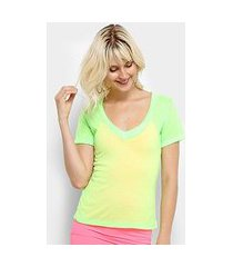 camiseta flora zuu neon