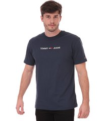 mens straight logo t-shirt