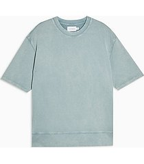 topman short sleeve sweatshirt - multi