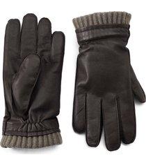 dorset goatskin-and-cashmere gloves