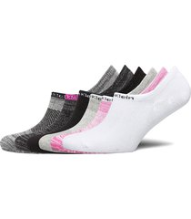 ck women liner 6p logo lingerie socks footies/ankle socks rosa calvin klein