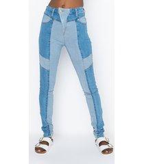 akira alpha high waisted skinny jeans