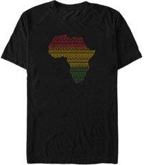 fifth sun men's africa pattern short sleeve t-shirt
