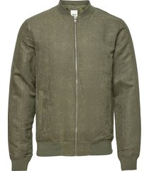 6209208, jacket - jovi fake suede tunn jacka grön solid