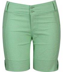 shorts pau a pique básico verde