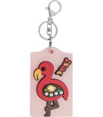 chaveiro ania store flamingo vermelho