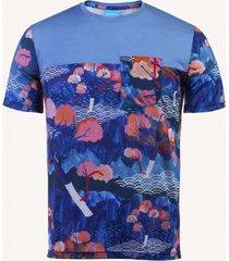 t-shirt z wełny merino tengoku