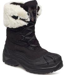 moonboots shoes boots ankle boots ankle boots flat heel svart ilse jacobsen